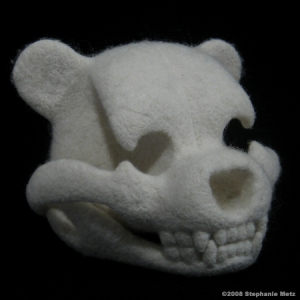 Stephanie Metz\'s Teddy Bear Skull